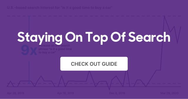 """Read the """"Staying On Top of Search"""" Guide"""